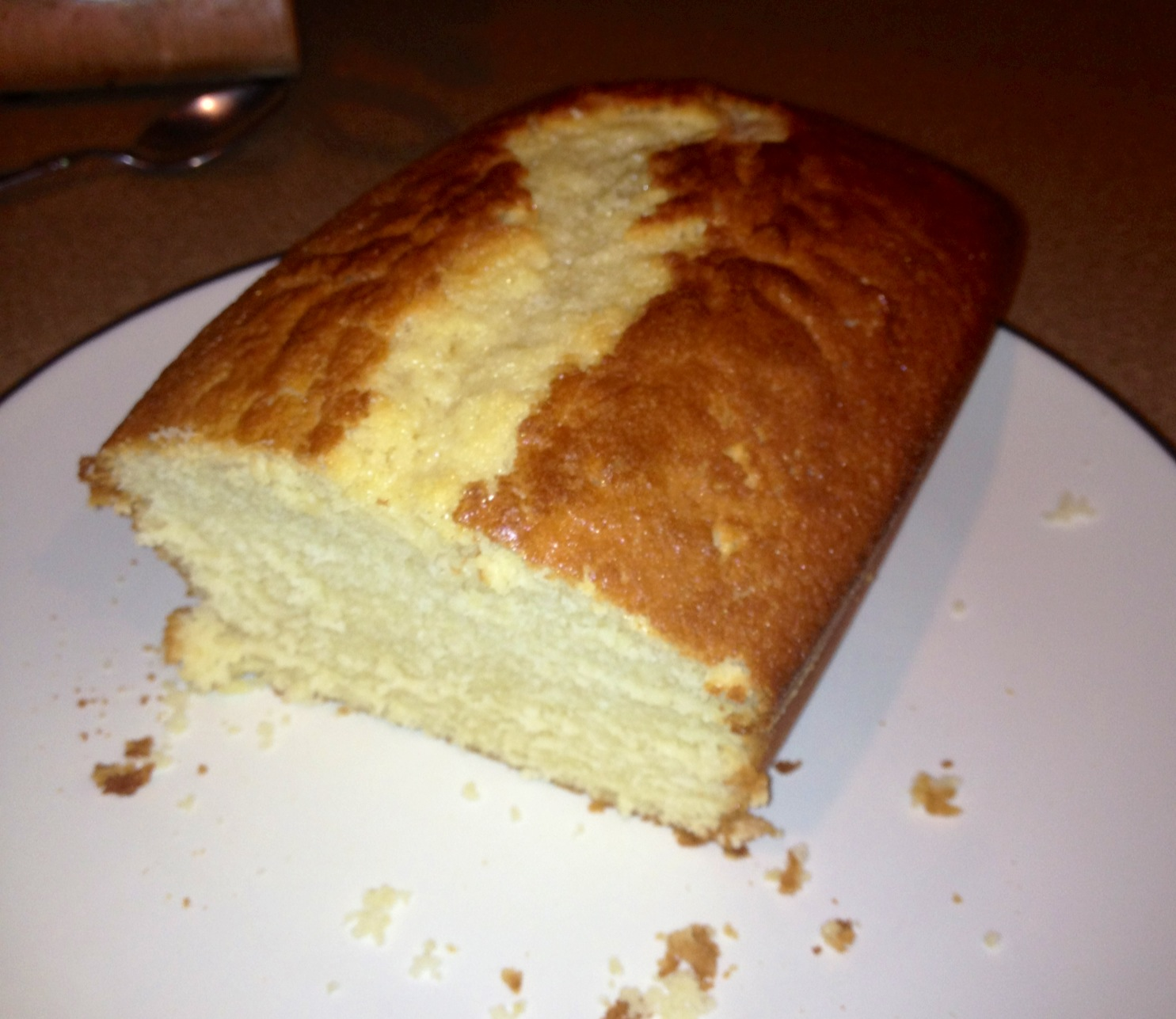 Homemade Cake Images : Homemade Vanilla Cake Two Frugal Gals