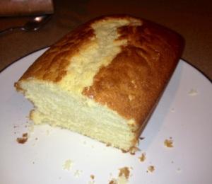 Homemade vanilla cake 2