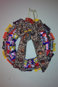 holloween wreath